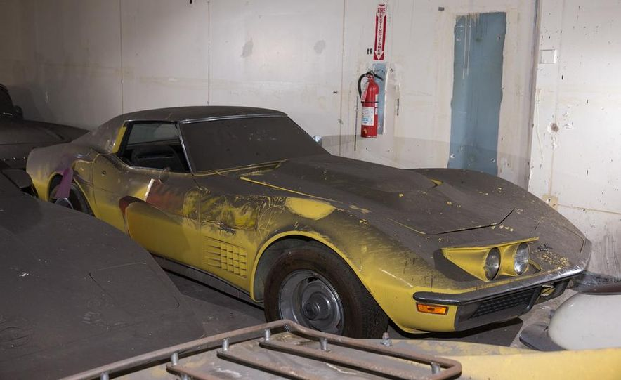 Peter Max Corvette Collection Exhumed from Parking-Garage Purgatory - Slide 22