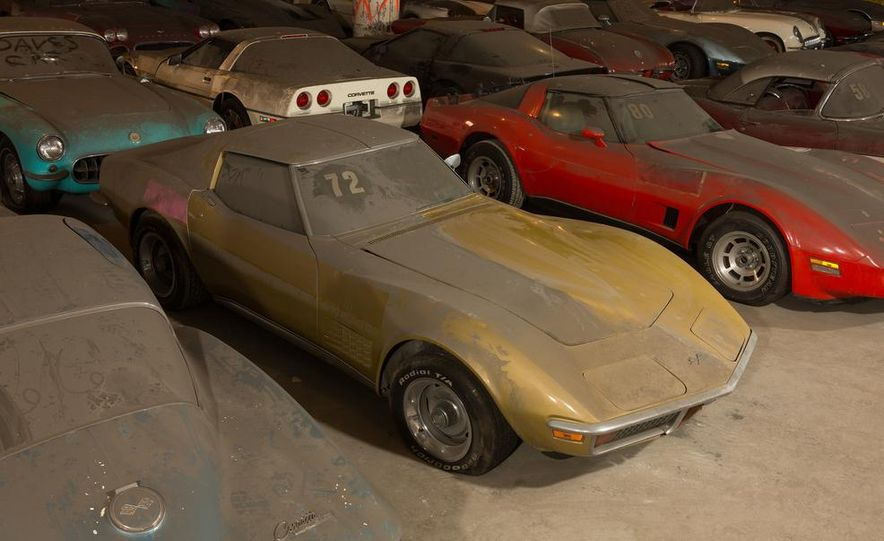 Peter Max Corvette Collection Exhumed from Parking-Garage Purgatory - Slide 25