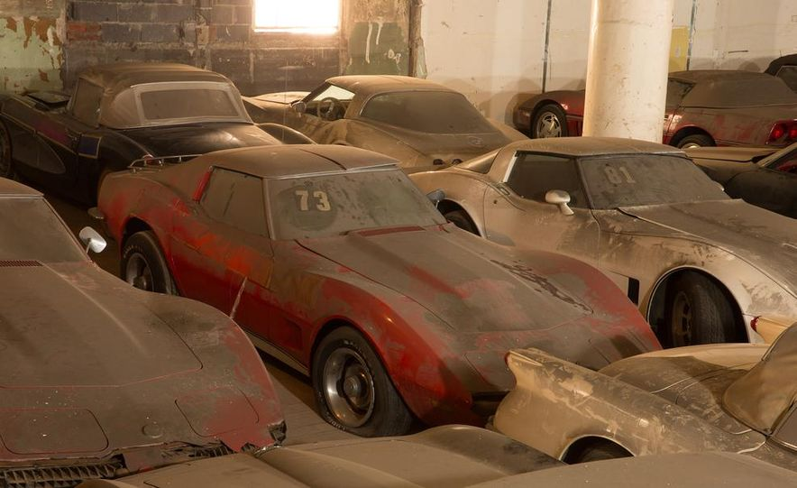 Peter Max Corvette Collection Exhumed from Parking-Garage Purgatory - Slide 26