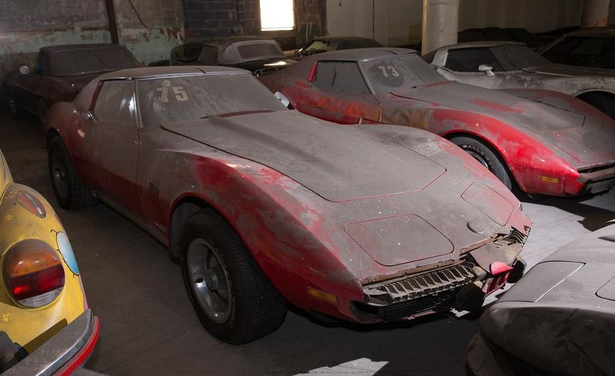 Peter Max Corvette Collection Exhumed from Parking-Garage Purgatory - Slide 28