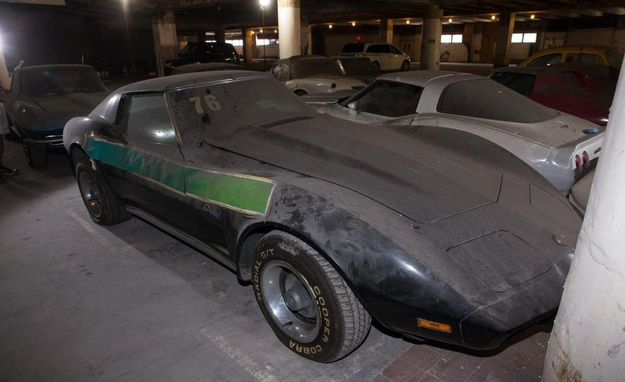 Peter Max Corvette Collection Exhumed from Parking-Garage Purgatory - Slide 29