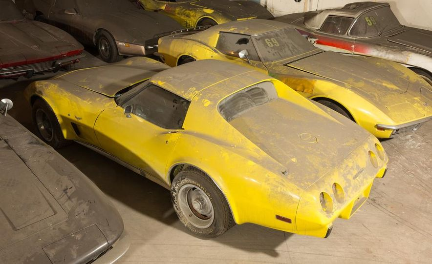 Peter Max Corvette Collection Exhumed from Parking-Garage Purgatory - Slide 30