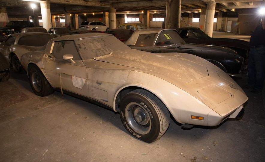 Peter Max Corvette Collection Exhumed from Parking-Garage Purgatory - Slide 32