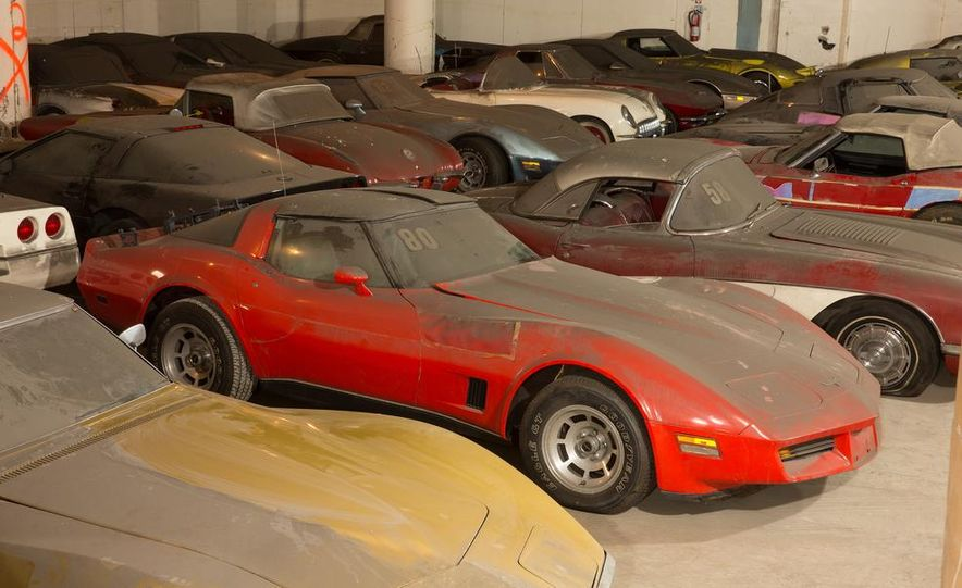 Peter Max Corvette Collection Exhumed from Parking-Garage Purgatory - Slide 34