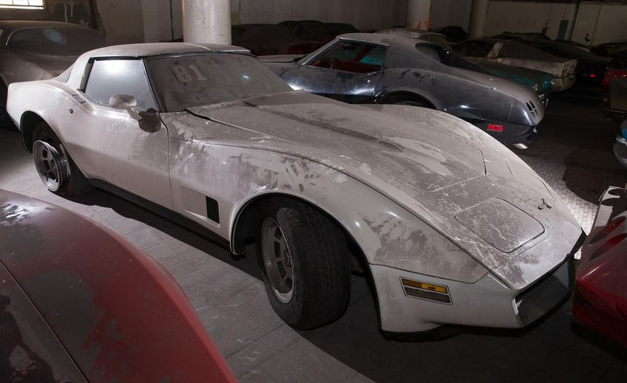 Peter Max Corvette Collection Exhumed from Parking-Garage Purgatory - Slide 35