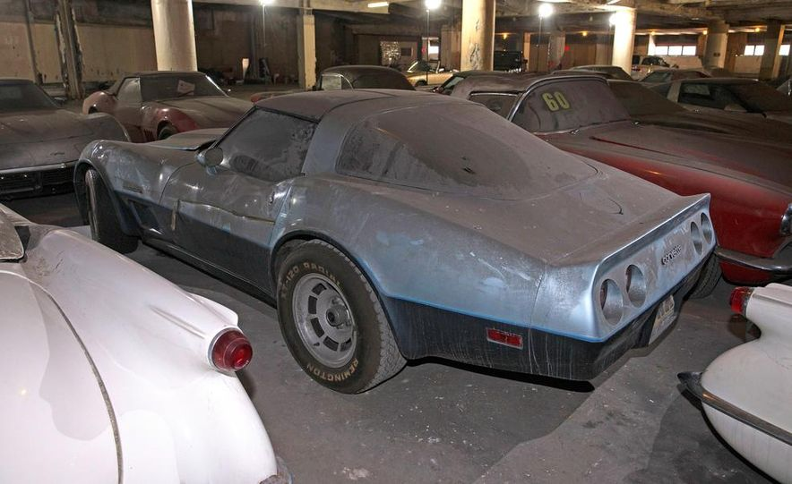 Peter Max Corvette Collection Exhumed from Parking-Garage Purgatory - Slide 38