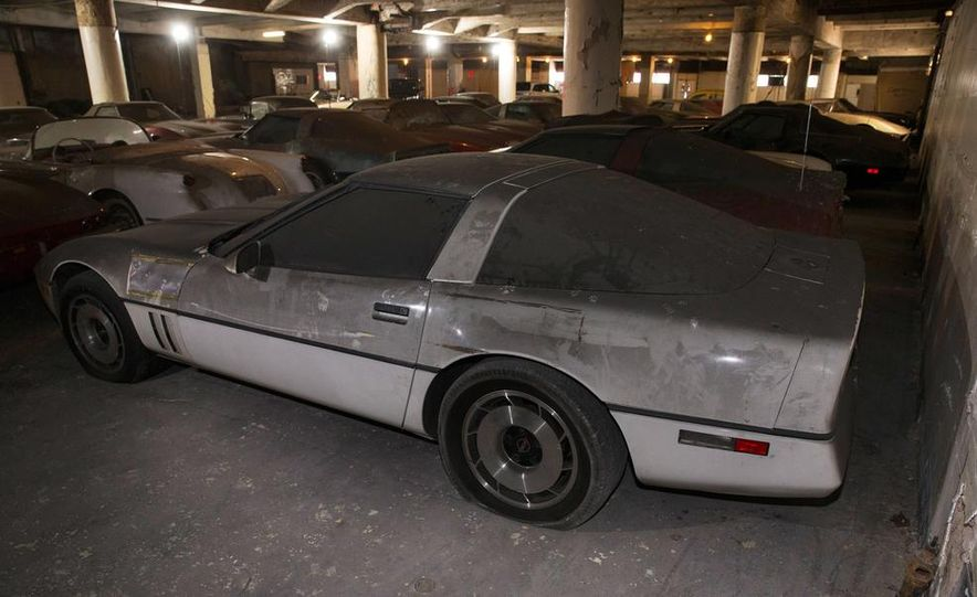 Peter Max Corvette Collection Exhumed from Parking-Garage Purgatory - Slide 39