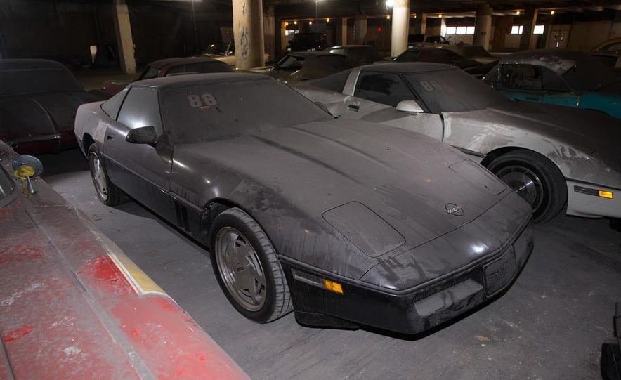 Peter Max Corvette Collection Exhumed from Parking-Garage Purgatory - Slide 43