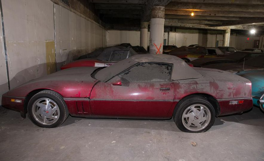 Peter Max Corvette Collection Exhumed from Parking-Garage Purgatory - Slide 44