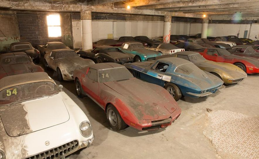 Peter Max Corvette Collection Exhumed from Parking-Garage Purgatory - Slide 2
