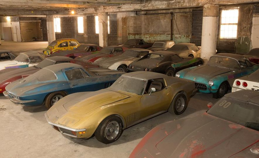 Peter Max Corvette Collection Exhumed from Parking-Garage Purgatory - Slide 3