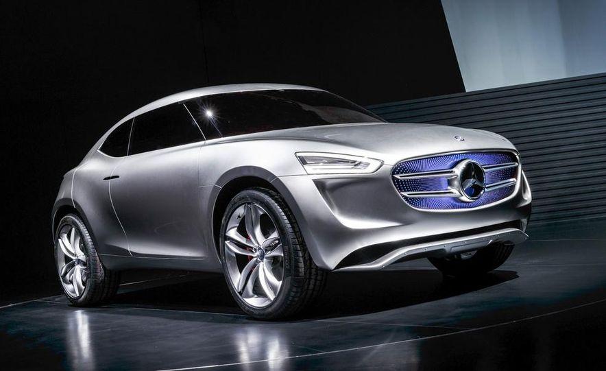 Mercedes-Benz G-Code concept - Slide 1