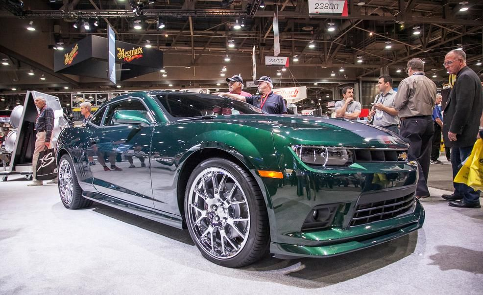 Chevrolet Camaro SS Green Flash Edition  Photo Gallery  Car and
