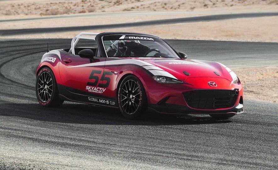 2016 Mazda MX-5 Miata Cup race car - Slide 12