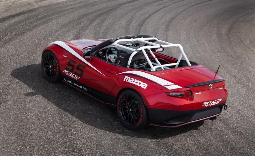 2016 Mazda MX-5 Miata Cup race car - Slide 19