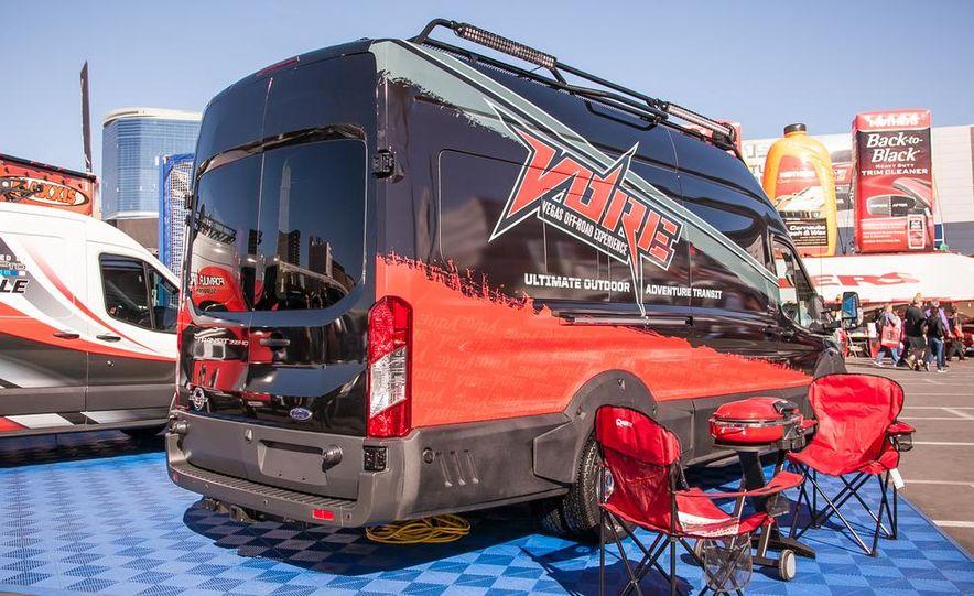 2015 Ford Tranist 250 Medium Roof Van by Formula DRIFT - Slide 7