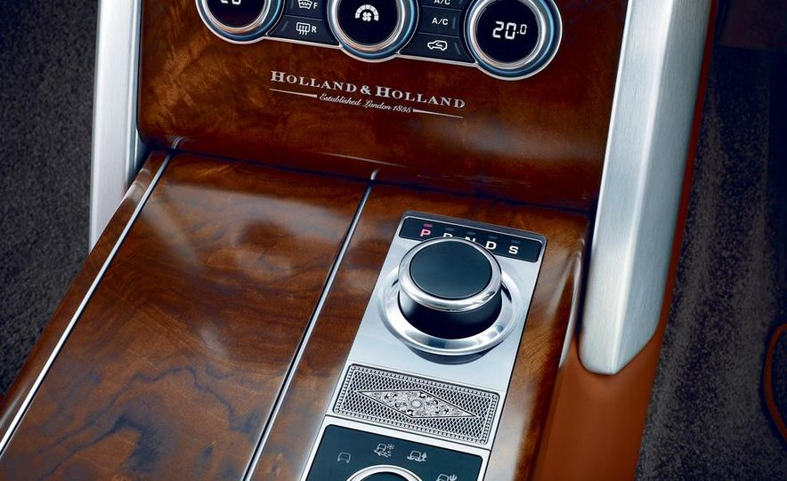 2015 Holland & Holland Range Rover - Slide 3