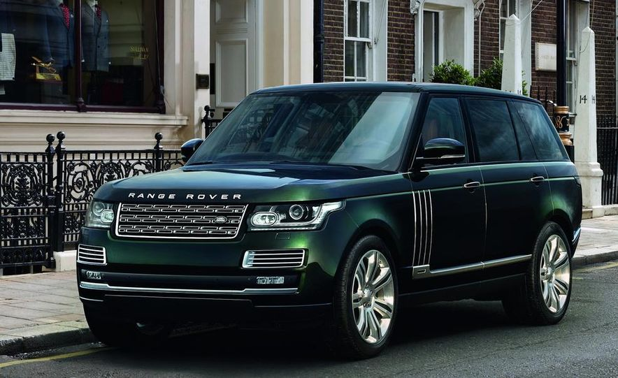 2015 Holland & Holland Range Rover - Slide 1