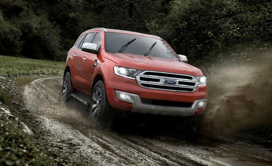 2015 Ford Everest - Slide 1