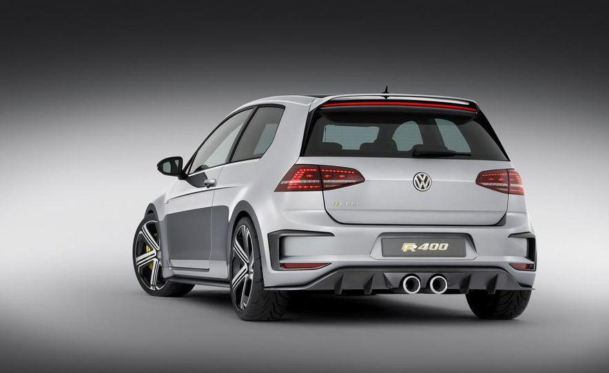 Volkswagen Golf R 400 concept - Slide 20