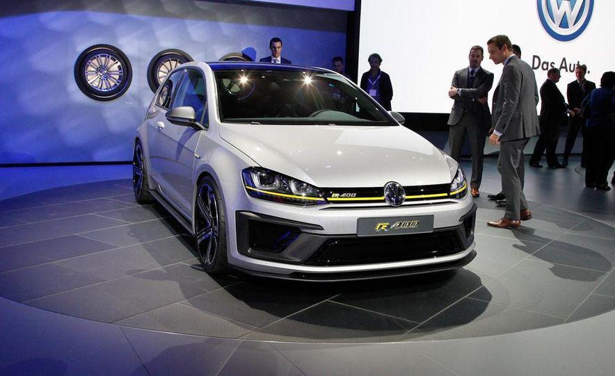 Volkswagen Golf R 400 concept Pictures  Photo Gallery  Car and