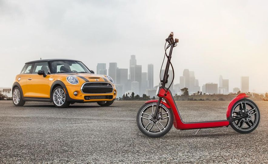 Mini Cooper S Hardtop and Citysurfer concept - Slide 1