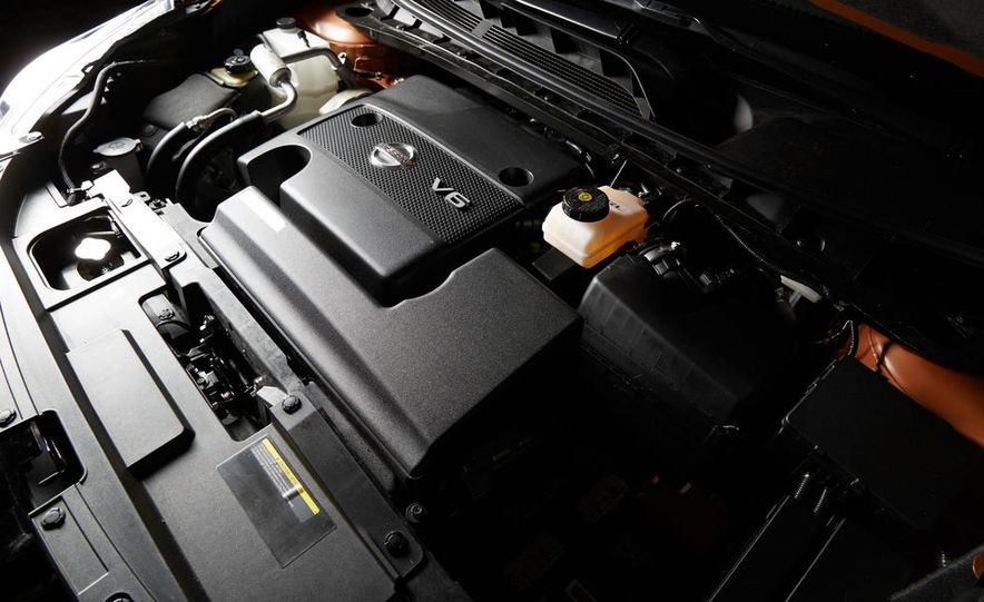 2015 Nissan Murano Platinum AWD - Slide 61