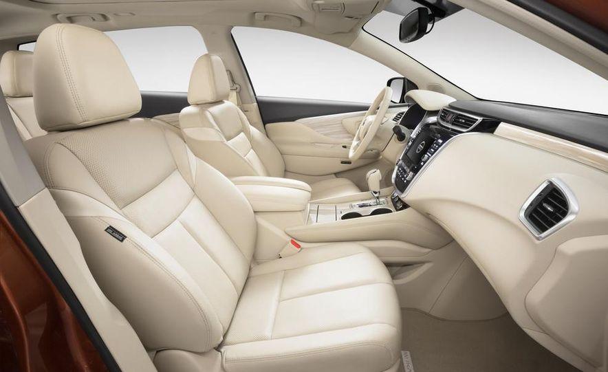 2015 Nissan Murano Platinum AWD - Slide 48