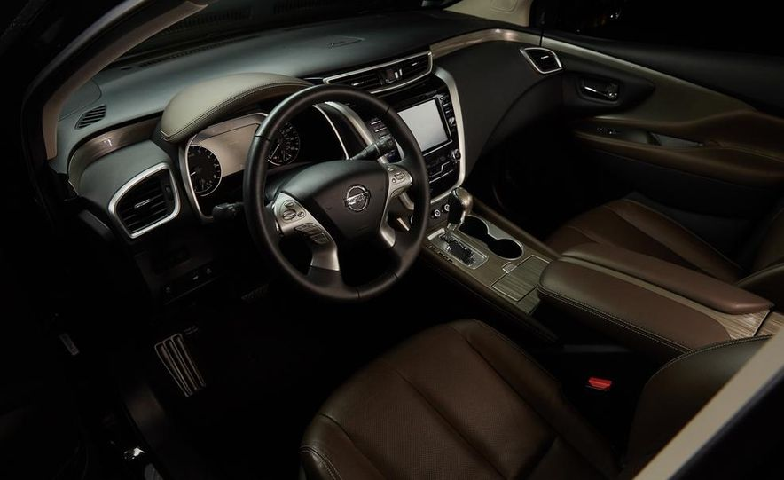 2015 Nissan Murano Platinum AWD - Slide 58