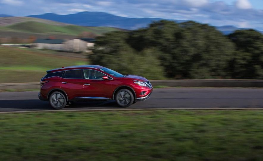2015 Nissan Murano Platinum AWD - Slide 21