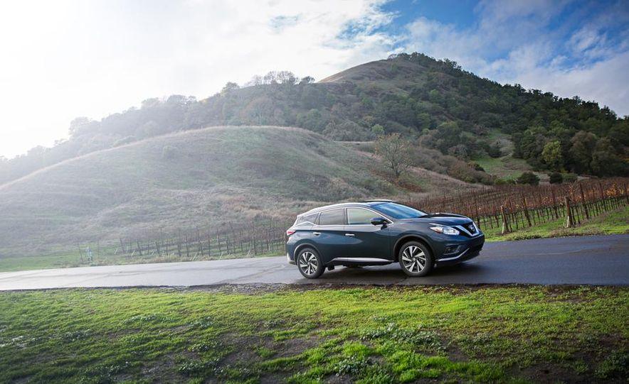 2015 Nissan Murano Platinum AWD - Slide 32