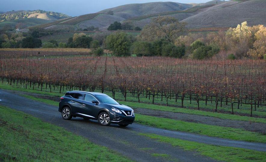 2015 Nissan Murano Platinum AWD - Slide 33