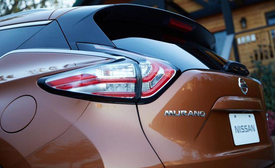 2015 Nissan Murano Platinum AWD - Slide 17