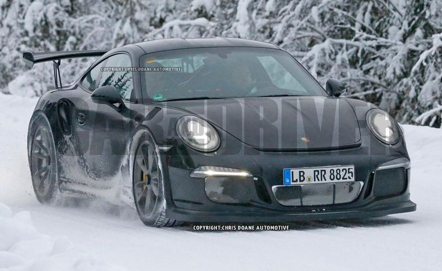 2016 Porsche 911 GT3 RS (spy photo) - Slide 1
