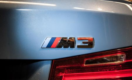 The Number of M Logos on the 2015 BMW M3 Is Staggering