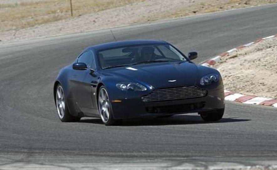 2007 Aston Martin V-8 Vantage, 2007 Porsche 911 Turbo, and 2008 Audi R8 - Slide 6