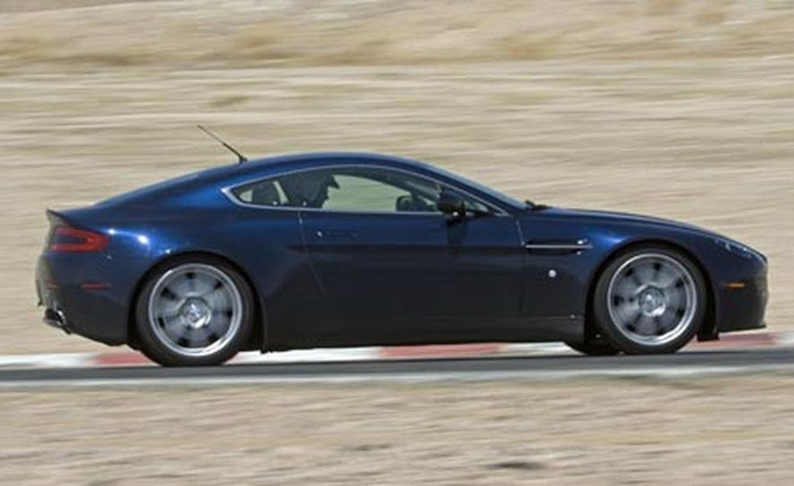 2007 Aston Martin V-8 Vantage, 2007 Porsche 911 Turbo, and 2008 Audi R8 - Slide 7
