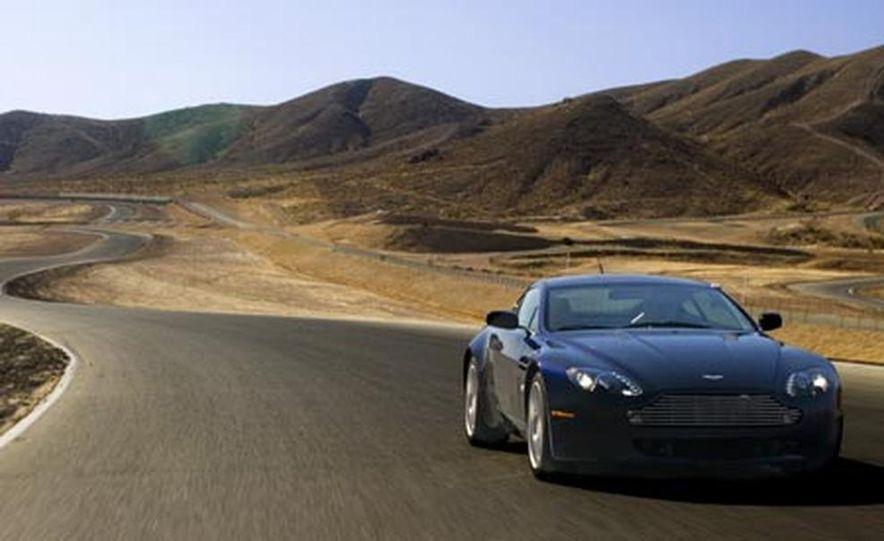 2007 Aston Martin V-8 Vantage, 2007 Porsche 911 Turbo, and 2008 Audi R8 - Slide 8