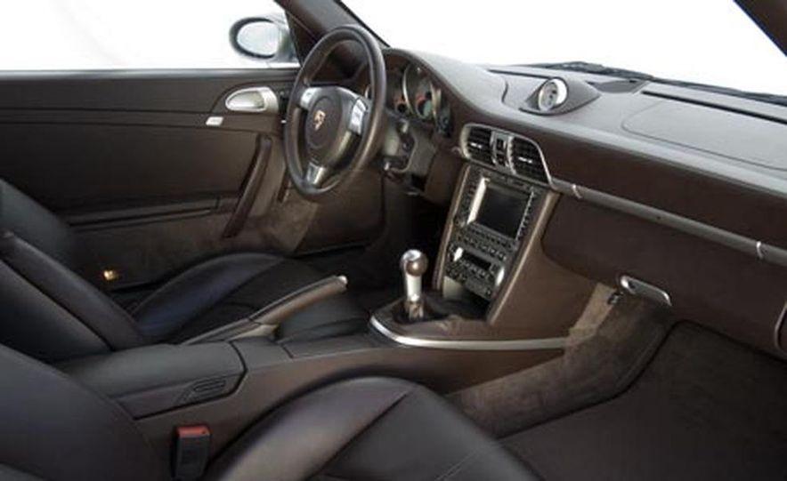 2007 Aston Martin V-8 Vantage, 2007 Porsche 911 Turbo, and 2008 Audi R8 - Slide 15