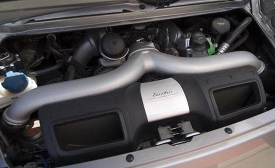 2007 Aston Martin V-8 Vantage, 2007 Porsche 911 Turbo, and 2008 Audi R8 - Slide 14