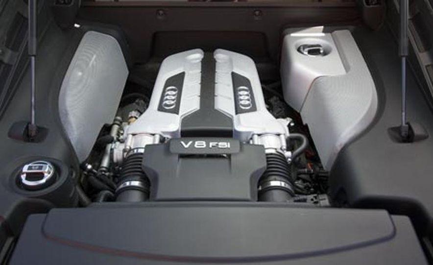 2007 Aston Martin V-8 Vantage, 2007 Porsche 911 Turbo, and 2008 Audi R8 - Slide 19