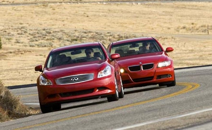 2007 BMW 328i and Infiniti G35 - Slide 7