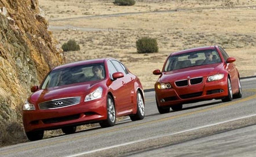 2007 BMW 328i and Infiniti G35 - Slide 9