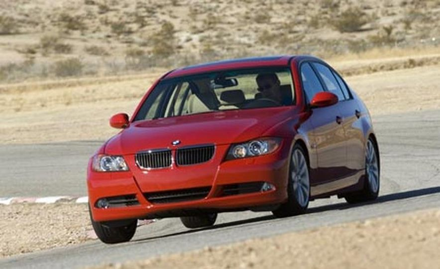 2007 BMW 328i and Infiniti G35 - Slide 11