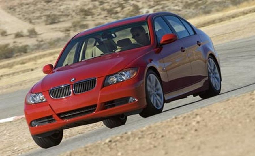 2007 BMW 328i and Infiniti G35 - Slide 12