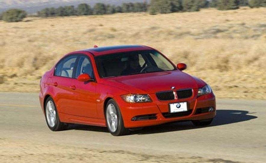 2007 BMW 328i and Infiniti G35 - Slide 13