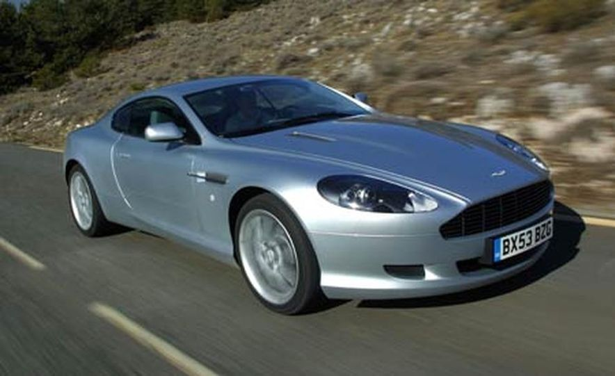 2005 Aston Martin DB9 - Slide 2