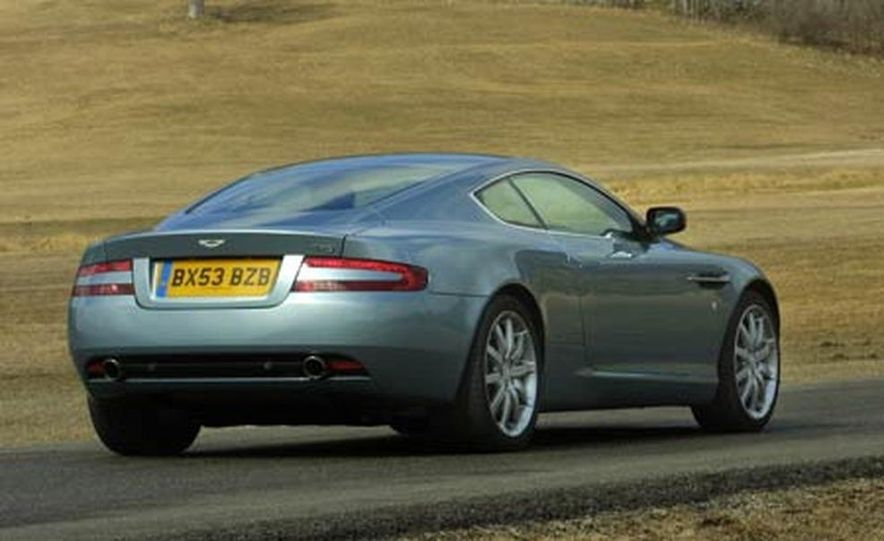 2005 Aston Martin DB9 - Slide 6