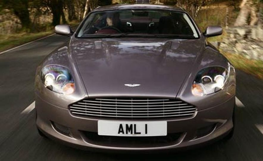 2005 Aston Martin DB9 - Slide 10