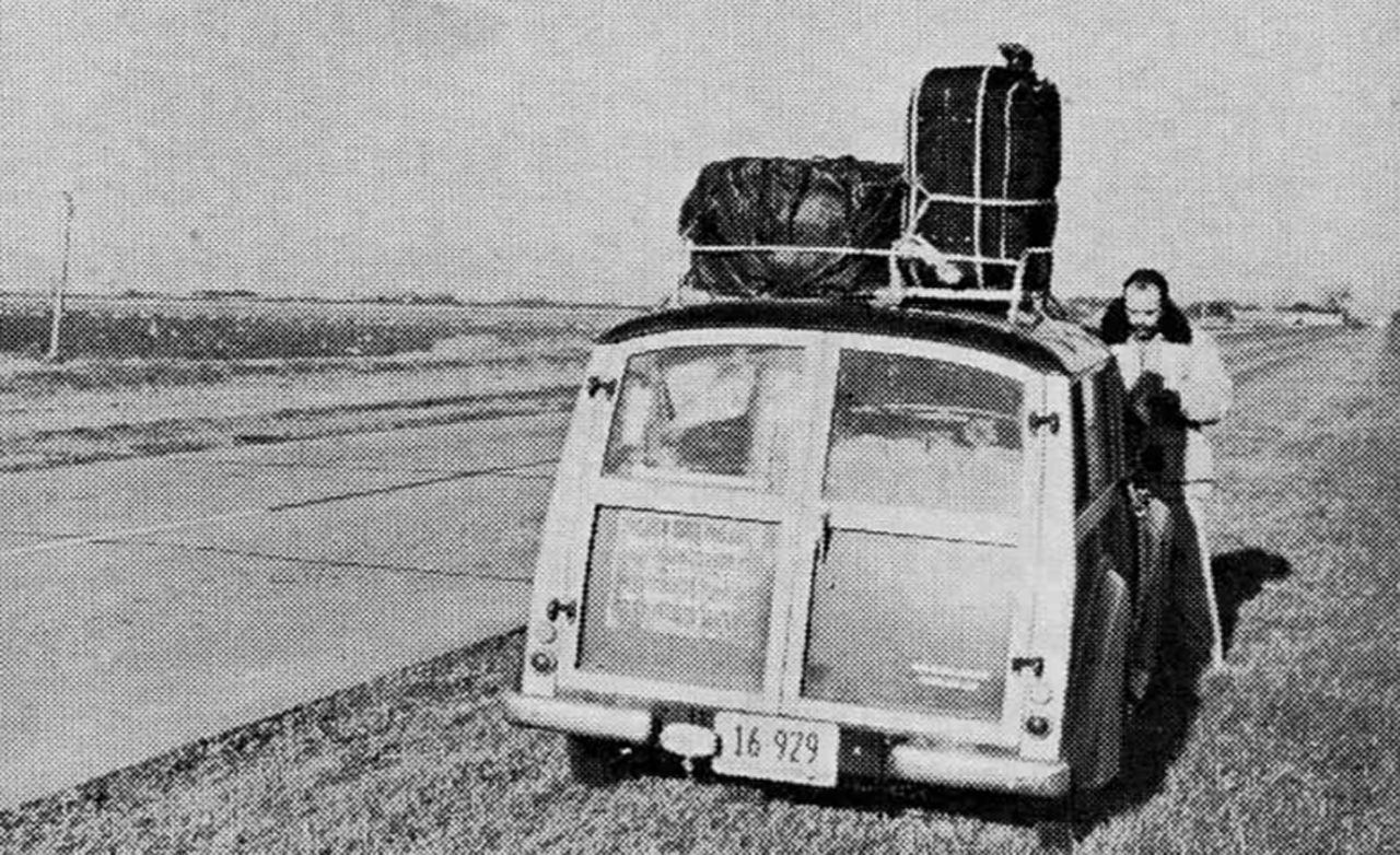 Deep Freeze Test: From New York to Alaska in the Morris Minor 1000